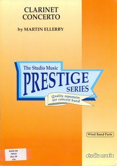 ELLERBY, Martin. Clarinet Concerto. Londres: Studio Music, 2001
