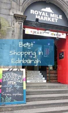 """Beloved Atmosphere   Best Shopping in Edinburgh, Portobello Beach and Leith, Scotland #BelovedAtmosphere #TBIN Damn, I love a good market. A favorite travel sayings of mine is, """"…and into every good itinerary, a bit of shopping must fall"""". Yes, I absolutely set aside time to explore local markets, vintage shops, boutiques, night bazaars and swap meets."""