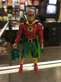 Mattel D.C. Alan Scott Golden Age Green Lantern figure