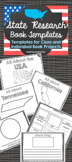 Students will learn research skills and state information by creating their own state research books! Choose from over 90 pages to create a unique research booklet that meets the needs of your class! Can be used to create both individual and class books. Great resource for presentations and projects!