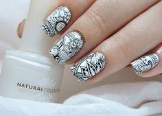 Nailstorming - En noir et blanc