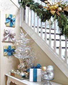 presents on wall