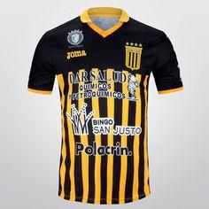 fac1a2a9424bb Camiseta Joma Almirante Brown Oficial 2015 - Negro+Amarillo