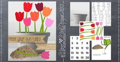 learning monkeys: Pretend Play Inspired By Tulips - Mama Miss