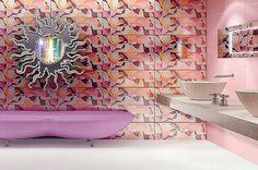 PINK BATHROOM!!! @Onica Hanby