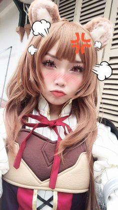 The Rising of the Shield Hero Raphtalia Cosplay Costume Anime Dress Suits Cosplay Anime, Cute Cosplay, Cosplay Makeup, Cosplay Outfits, Cosplay Wigs, Best Cosplay, Cosplay Costumes, Loli Kawaii, Kawaii Girl