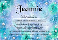 Search results for Jeannie | Angies Creation