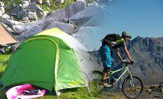 Cycling & Camping at Dhauladhar >>>#camping #cycling #Dhauladhar