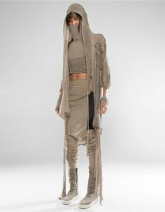 "M: ""EyesWhyte Tribe: general wear, add tribe stripe"" hostagesandsnacks: "" ""DEMOBAZA S/S 2016 "" "" Cyberpunk Clothes, Cyberpunk Fashion, Fierce, Dystopian Fashion, Post Apocalyptic Fashion, Future Clothes, Lookbook, Future Fashion, Costume Design"