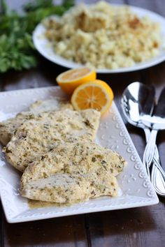 lemon & herb chicken
