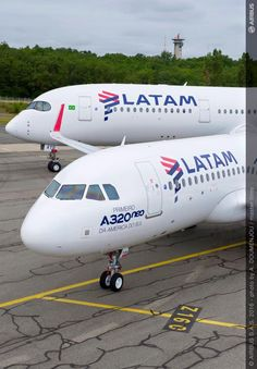 LATAM Airlines Airbus A320-200NEO and A350-941XWB
