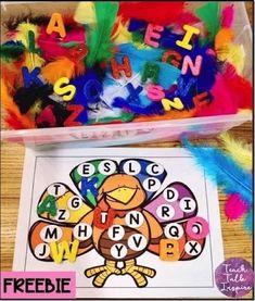 Thanksgiving Sensory Bin Round Up | Sweet for Kindergarten
