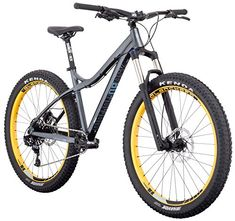 ddfab5671 Diamondback Bicycles Womens Rely 275 Plus Hardtail Mountain Bike 155Small  Silver -- More info could