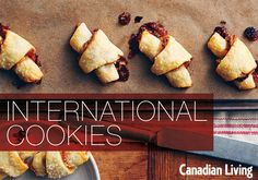 International cookies for The Great Canadian Cookie Exchange