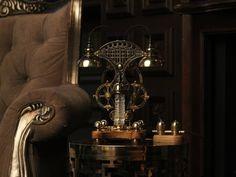 Steampunk lamp 9 3/4 | Etsy Power Wire, Steampunk Lamp, Work Lights, Lamp Bases, Lighting, Artist, Etsy, Instagram, Artists