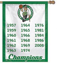 Celtics Champions House Flag