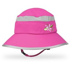Kids' Fun Bucket Hat in Fuchia/Grape