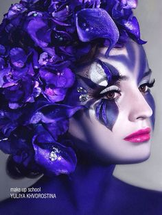 Yuliya Khvorostina Face Paint