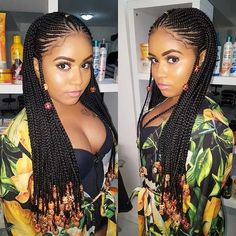 One of the must-have hairstyles of 2018 are the Fulani braids. Fulani braids have been in and out of the style spotlight for years and were famously worn by Alicia Keys. These beautiful braids are back and are hotter than ever. We love this look and have found 10 Fulani braids for you try this summer. There is a