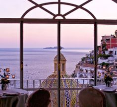 View in Positano, Amalfi Coast