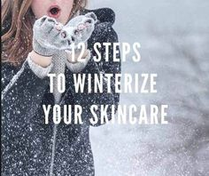Guest Blog By VeganAcneSufferers  I hate to be the bearer of bad news, but ... winter is coming. That means it's maybe time to start thinking about changing up your skin care routine. After all, keeping your skin beautiful and healthy is something we need to work at all year long - and as the weather changes from warm to cold, our skin may require a little skin care tweaking to function at its full potential. | winter skin care routine | | winter skincare | #winterskincareroutine…