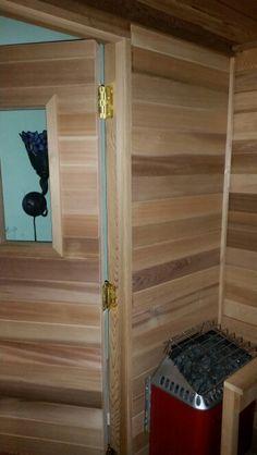 My sauna Saunas, Shelves, Home Decor, Shelving, Decoration Home, Room Decor, Steam Room, Shelving Units, Home Interior Design