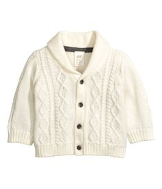 Cable-knit Cardigan -Gotta have it! Baby Boy Outfits, Kids Outfits, Bebe T Shirt, Organic Baby Clothes, Cable Knit Cardigan, H&m Online, Kid Shoes, Fashion Online, What To Wear