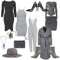 50 shades of grey, undertøy, dag, natt, kveld, antrekk, grått, nyanser, gråtoner, klær, mote, fashion, outfit