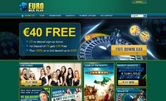 EuroMaxPlay is always adding new high jackpot games so be sure to Check back regularly - Euromaxplay Casino >> jackpotcity.co/r/85.aspx