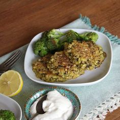 Savory mushroom millet cakes with cashew cream sauce are a great vegetarian millet recipe
