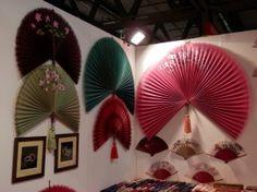Abanicos de decoracion japonesa