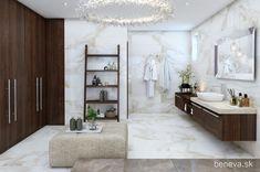 NÁVRH KÚPEĽNE - Fotogaléria, šikovné riešenia kúpeľní / BENEVA Double Vanity, Bathtub, Bathroom, Standing Bath, Washroom, Bathtubs, Bath Tube, Full Bath, Bath