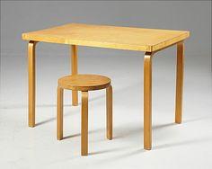 Alvar Aalto bord pall