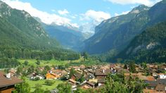 Switzerland: A Great Village to Stay at Near Interlaken