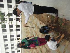 Students with our president MR. Sandeep pandya sir