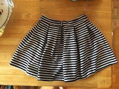 Skirt    [url]: http://www.vinted.com/sh/clothes/14577859-striped-skater-skirt