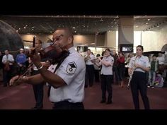U.S. Air Force Band Holiday Flash Mob