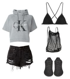 """Court date"" by persian-lover on Polyvore featuring Calvin Klein Jeans, adidas Originals, Kiki de Montparnasse and Athleta"