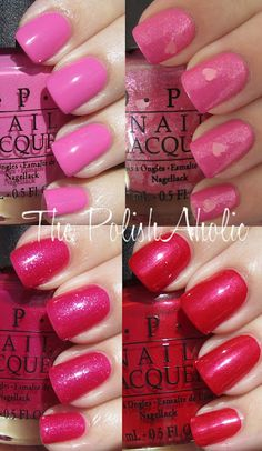 OPI Minnie Mouse Collection 2012.