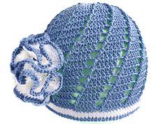 Girl hat Crochet baby hat Crochet hat with flower by SvitlanaSky,