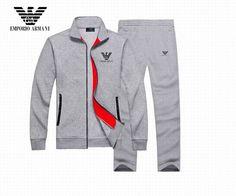 New Armani Men Tracksuit High Quality Sports Apparel Sweatshirt Cotton