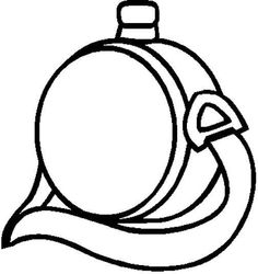 sleeping bag coloring pages - photo#24