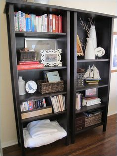 After - DIY Bookcase Styling, Bookshelf, Bookshelves, Organizing