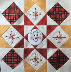 Christmas Quilt Patterns, Christmas Sewing, Quilt Block Patterns, Quilt Blocks, Christmas Blocks, Christmas Quilting, Quilting Tutorials, Quilting Projects, Quilting Designs