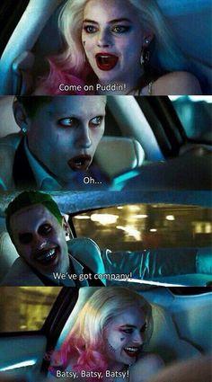 Imagen de harley quinn, suicide squad, and joker Harley And Joker Love, Joker Y Harley Quinn, Margot Robbie Harley Quinn, Suiced Squad, Hearly Quinn, Der Joker, Daddys Lil Monster, Dc Memes, Joker Quotes