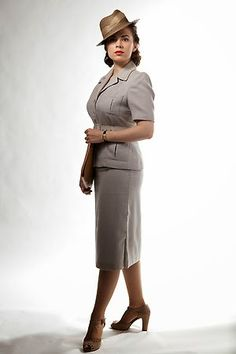Agent Carter (Designer Giovanna Ottobre-Melton).