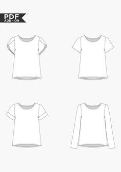 Scout Sleeve Variation | Grainline Studio
