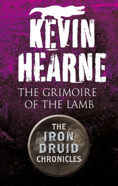 """#CoverReveal The Grimoire of the Lamb (The Iron Druid Chronicles 0.4) by Kevin Hearne. """"It's set four years before the events of HOUNDED so there's no Granuaile, but we get plenty of Atticus and Oberon as they get lured to Egypt by a priest of the crocodile god, Sobek!"""" -Kevin Hearne, December 6th 2012.  THE GRIMOIRE OF THE LAMB, an Iron Druid novella coming in 2013 ebook Published by Del Rey"""