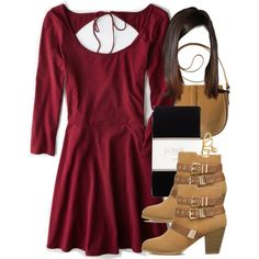 """Allison Inspired Outfit with Requested Boots"" by veterization on Polyvore"