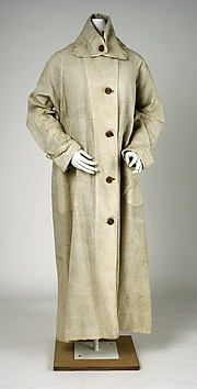 Collection | The Metropolitan Museum of Art...Duster  Abercrombie and Fitch Co.  Date: 1905  Medium: cotton